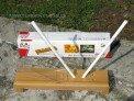 Точилка для ножей,  керамическая с углами (4 камня) Taidea
